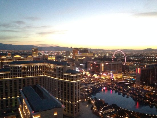 Vdara Hotel & Spa: 530am on 26th May from floor 53