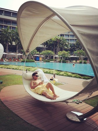 W Singapore Sentosa Cove: Very relaxing i love u W