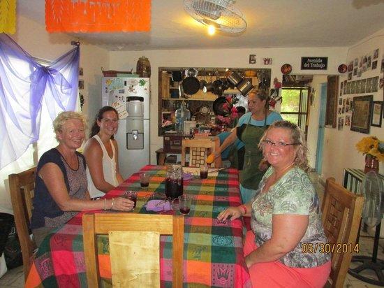 Josefina's Cocina Con Alma: Josefina's dining room.