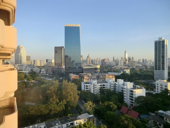 Pantip Suites Sathorn: View from one of my rooms