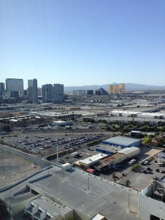 The Palms Casino Hotel : view from our room on the 26th floor