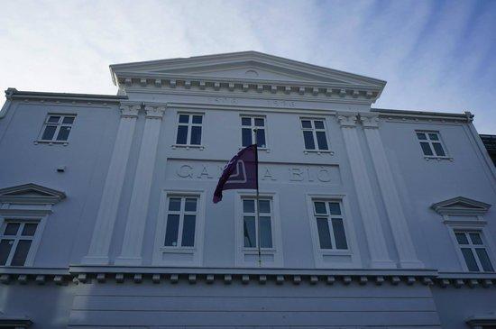Icelandic Opera (Islenska Operan): The façade.
