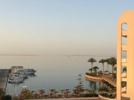 Hurghada Marriott Beach Resort : Vue depuis la chambre 401