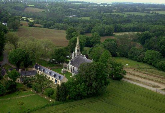Manoir de Kerdevot : La Chapelle de Kerdévot et le Manoir