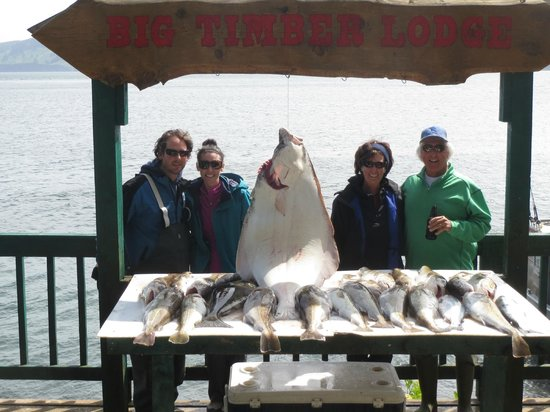 Big Timber Lodge: First Morning's Catch