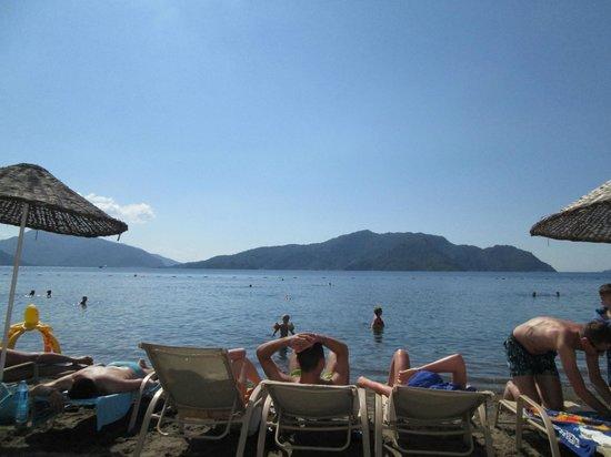 Ideal Prime Beach : Hotel beach