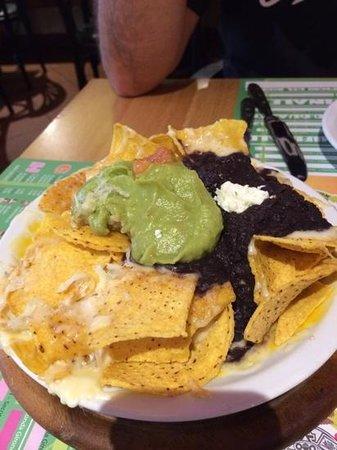 Tijuana: Guacamole, black refried bean & chips