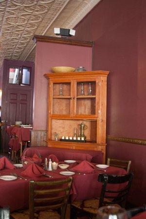 Cafe Roka: Upstairs room