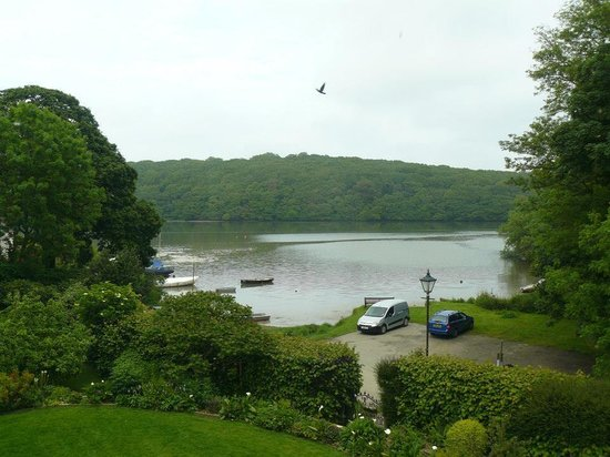 The Old Vicarage: View from the room
