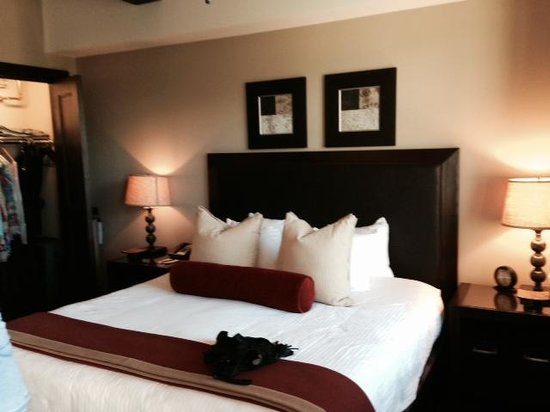 Lumiere Telluride: Fabulous comfortable bed