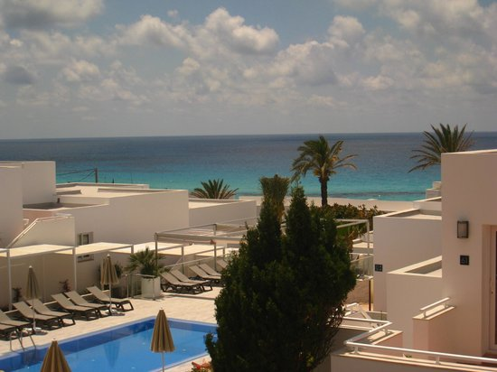 Hotel Riu La Mola: Zimmeraussicht 5. Etage