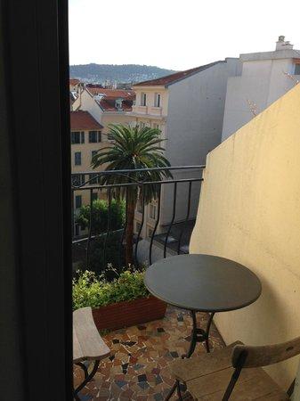 Hotel Le Grimaldi by HappyCulture: balcony