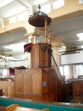 A beautiful triple decker pulpit - Picture of St Mary's ...