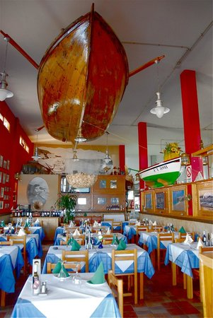 Cofradia de Pescadores de Morro Jable: La sala per la cena.