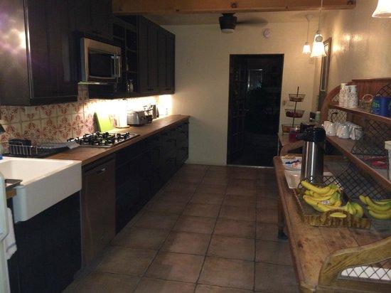 Hotel California: Shared kitchen