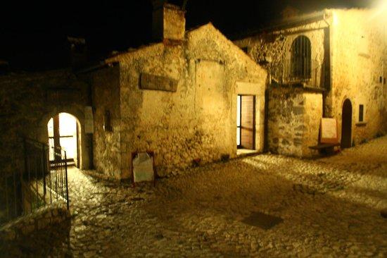 Rifugio della Rocca: Il ristorante