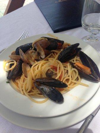 Lo Scoglio da Tommaso: spaghetto ai frutti di mare