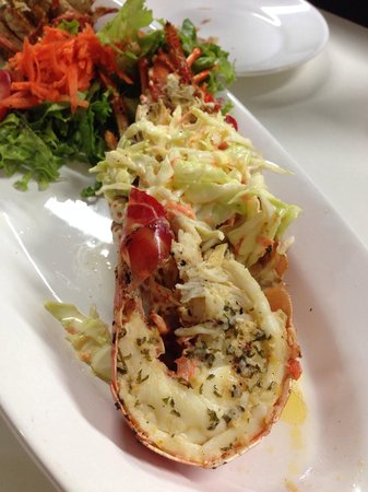 Sky's the Limit: Lobster. It was very delicious!