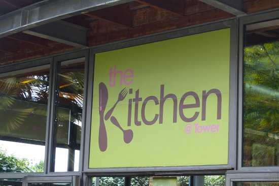 ​Byward Kitchen and Bar: The Kitchen@Tower sign
