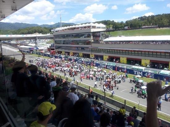 Autodromo del Mugello : View from Centrale Grandstand silver