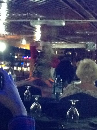 Dubai Marina Luxury Dhow Dinner Cruise: We're Dancing: Traditional dancing aboard the Dhow Cruise