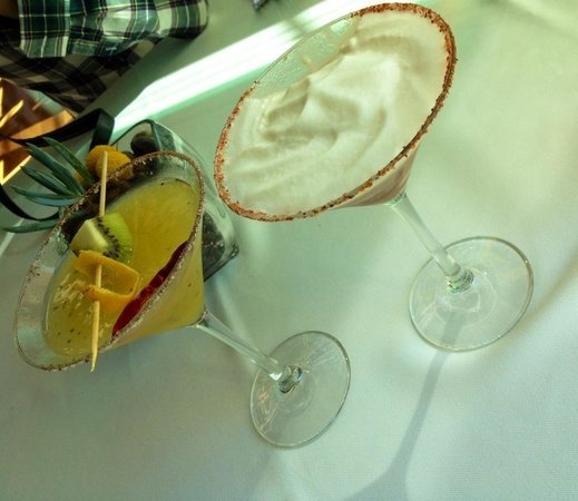Mision 19: Exotic martinis.