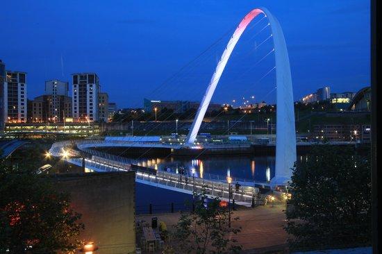 Malmaison Newcastle: Evening view