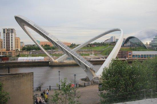 Malmaison Newcastle: Bridge in operation