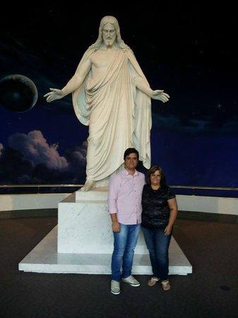 Salt Lake Temple: EU E MEU FILHO.