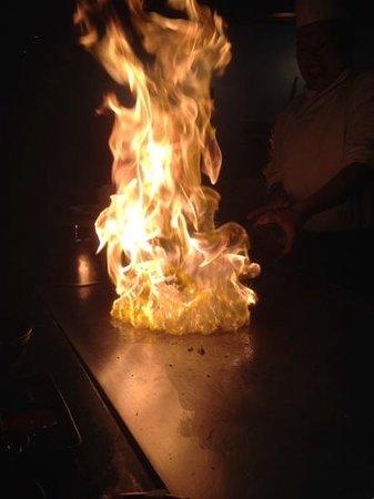 Taiki: flambe