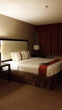 Holiday Inn Hotel & Suites Marlborough : Huge comfy bed