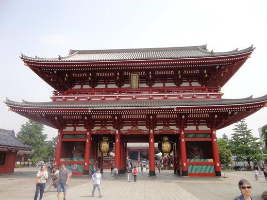 """Senso-ji Temple: Hozomon - """"Treasure House Gate"""""""