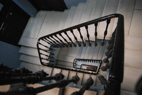 Pension Universal: лестница