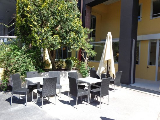 Hotel Paradis: la terrasse