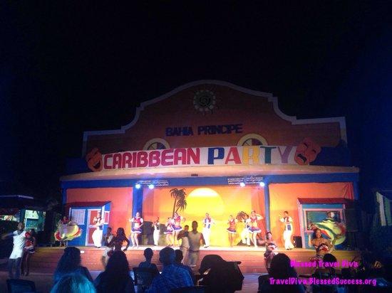 Luxury Bahia Principe Esmeralda Don Pablo Collection: The Caribbean Party at Pueblo Principe was awesome!!