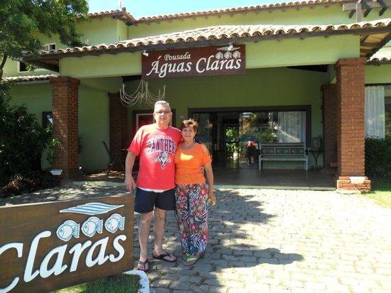 Pousada Aguas Claras Buzios: Frente de ka Pousada