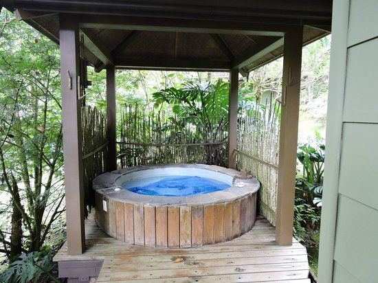 El Silencio Lodge & Spa : Jacuzzi