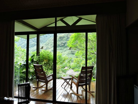 El Silencio Lodge & Spa : view from bed