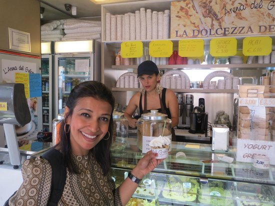 Arena del Gelato: the place for gelato lovers