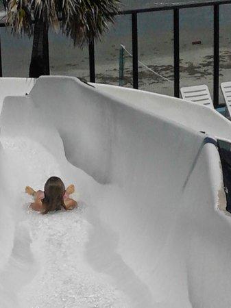 Sun Viking Lodge: waterslide