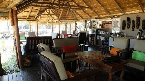 Shindzela Tented Camp: The main area