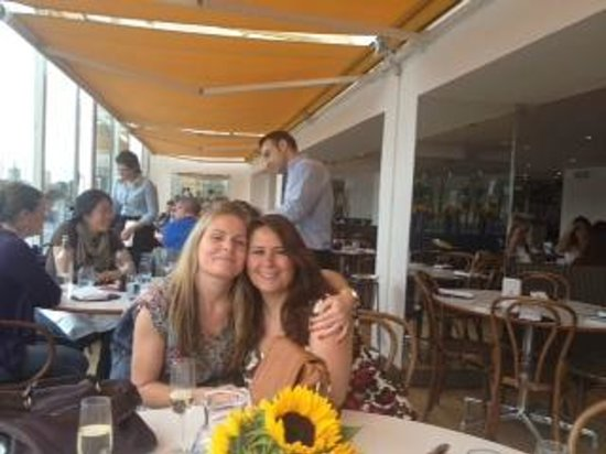 Foto de blue print cafe londres having a fabulous time at blue print cafe me and my amazing friend claire malvernweather Gallery