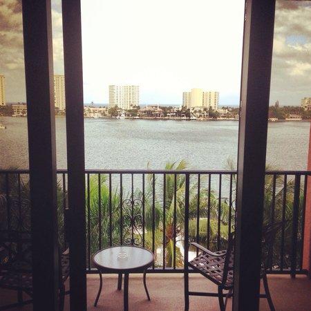 Boca Raton Resort, A Waldorf Astoria Resort : Beautiful views from the room