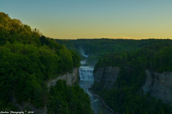 Letchworth State Park: The Falls