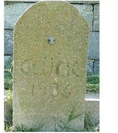 Fort Monroe National Monument: pet cemetery on top of fort