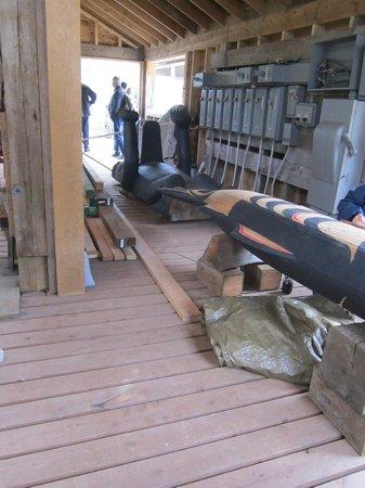 Alaska Rainforest Sanctuary: The loggers shop
