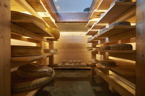 Restaurant Le Clos des Sens : Cave d'Affinage