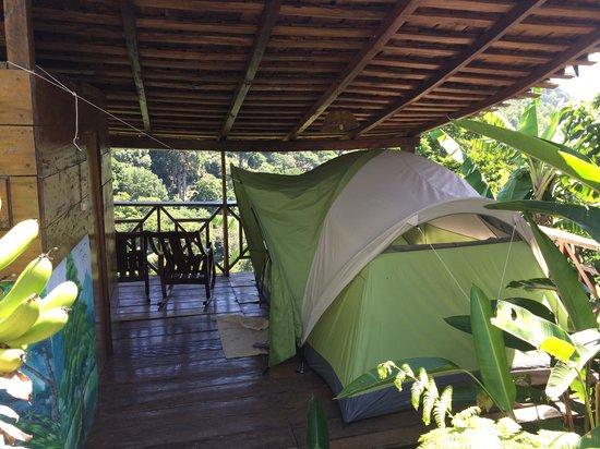 La Bastilla Ecolodge : Tented room