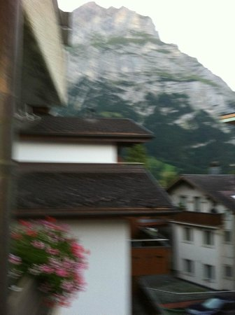 Eiger Selfness Hotel: View from our balcony!