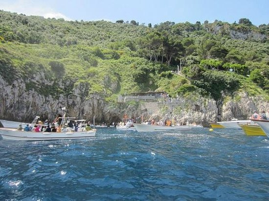Blaue Grotte (Grotta Azzurra): entrée grotte azurra